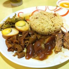 ข้าวขาหมู | Stewed Pork Knuckles with Rice @ ขาหมูนครปฐม | Ka Moo Nakorn Pathom