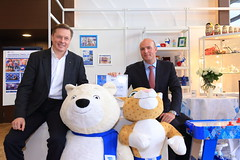 The Sochi 2014 Organizing Committee has entered into a licensing agreement with the X5 Retail Group (Sochi 2014 Winter Games) Tags: retail group olympic licence mikhail sochi x5  winterolympicgames  sochi2014 2014  dmitrychernyshenko chernyshenko     x5retailgroup susov mikhailsusov