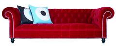 3 Seat Smithfield Sofa - Red (Rume.co.uk) Tags: furniture sofa smithfield chesterfield rume