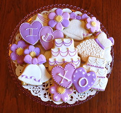Custom Wedding Collection Cookies