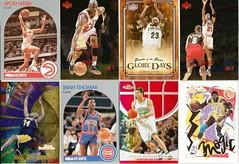 #8-BASKETBALL SPORTS CARD LOT