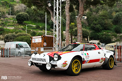 Rally Legend (Raphal Belly Photography) Tags: white paris car yellow de french photography eos gold hotel kiss riviera photographie rally wheels casino montecarlo monaco mc belly exotic giallo 7d passion rims blanche 06 raphael fm bianco blanc rb supercar spotting lancia supercars stratos raphal hf bez principality jantes