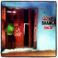 Next customer at the bhang #shop #ganja #store #420 #kid #high #marijuana #weed #bhang #india #puri #baba #yoga #trip #cali #pipe #hash #myart #mypic #mela #khumbh #travel #village (Jungly Creations) Tags: street blue boy people boys sign shop shopping square store kid weed paint child lofi dont squareformat drugs government bud ganja bhang bhanga iphoneography instagramapp