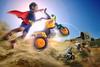 MotoX Baby (Abel Brata) Tags: photomanipulation photoshop fly flying offroad superman photoediting imagemanipulation motocross superboy compositing motox superkid imagecompositing