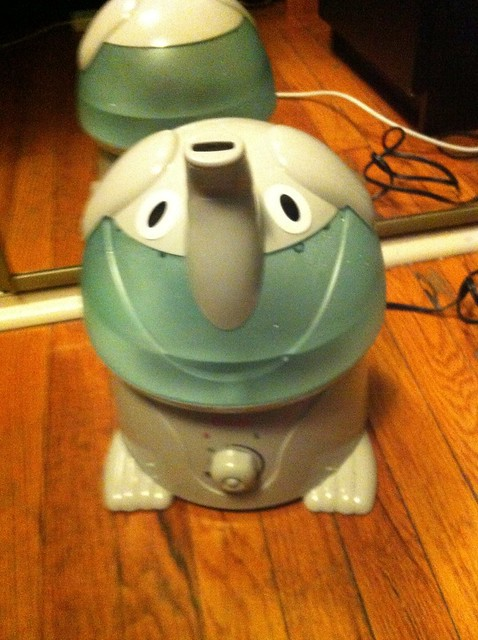 Humidifiers make you breathe better...