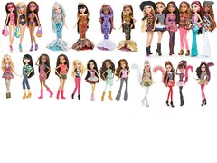 Bratz Spring '13 Lineup (Drekitude 2) Tags: new sea wild beach it jade sasha yasmin catz polished bahama kool totally bratz cloe the in xpress fianna 2013 meygan stunnerz sp13