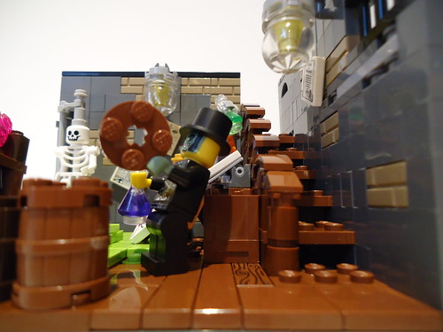 Dr Jekyll's lab transformation 3