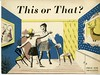 Cover from the publication 'This or That' (1947) (Design Archives) Tags: exhibitions publications designcouncil barbarajones blackeyesandlemonade