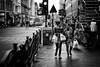 Glesca Burds (stephen cosh) Tags: life street city people blackandwhite bw sepia mono scotland town glasgow candid streetphotography rangefinder reallife humancondition blackandwhitephotos 50mmsummilux blackwhitephotos leicam9 stephencosh leicammonochrom leicamm