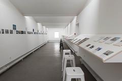 exposition dans la galerie d'actualité de la villa Noailles