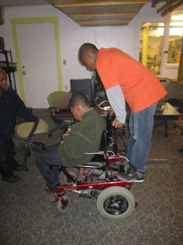 "Re-building an Electric Wheel Chair • <a style=""font-size:0.8em;"" href=""http://www.flickr.com/photos/52992303@N05/8469400498/"" target=""_blank"">View on Flickr</a>"