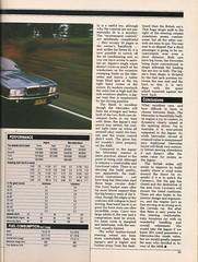 1987 Road test. Mercedes benz 300E vs Jaguar Sovereign. Part 8 (CJN1990) Tags: road old test vintage magazine mercedes benz w wheels review australia class 124 e 200 jaguar 300 230 sovereign 260 w124 300e 200e 260e 230e mb8