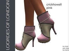 LOORDES OF LONDON-CRICKHOWELL BOOTS-PINK-NEW (Loordes of London) Tags: sale secret 60l my