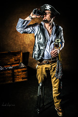 Photo-Pirate (A. Alaev) Tags: old light man hat speed photoshop beard skull photo nikon photographer treasure map chest tripod parrot pirate strong spyglass lenses tricorn