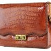 3017. Vintage American Alligator Bag