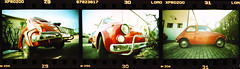 Fiat 500 on film (Giona4) Tags: film car analog vintage wideangle fiat500 analogicait lcwide