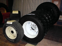 Tires For Agriculture. (dccradio) Tags: wisconsin mall farming equipment machinery ag agriculture wi agricultural farmequipment farmshow marshfield farmmachinery centralwisconsin shoppesatwoodridge marshfieldmall wisconsinfarming machineryshow agshowagricultureshow