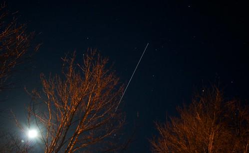 ISS over Nova Scotia