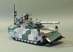 CV-120A3 Charger light tank (Aleksander Stein) Tags: light fire support tank lego military mortar vehicle nordic amos charger ndc hagglunds cv120