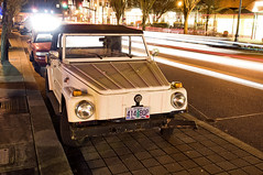 1974 Thing (Curtis Gregory Perry) Tags: street lake vw night oregon volkswagen 1974 nikon long exposure thing main oswego d300