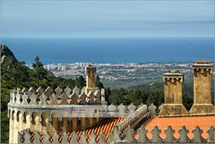 The view from Pena Castle | Portugal (Stefan Cioata) Tags: travel vacation holiday tourism beautiful photography marketing europe view image sale exploring details great joy visit explore most sight lovely top10 iconic available advertise touristical flickrandroidapp:filter=none