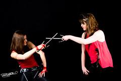 Fight ! - Steve. - (Steve--foto) Tags: canon studio fight femme soire combat tamron picardie laon aisne deguisement canon60d ifsi stevecfoto