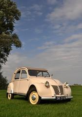 La Belge... (CitroenAZU) Tags: 1955 beige citroen 2cv azl sandusky sk1310