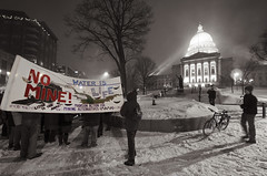 Vigil for the Water! 2/26/13 Madison, Wisconsin. (depthandtime) Tags: winter snow water wisconsin protest mining capitol madison senate ironmine 22613 nativerights gtac idlenomore ab1sb1 february262013 vigilforwater