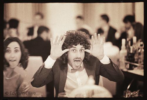Invitados en una boda - Copyright Edward Olive fotografo de boda para novias mas exigentes