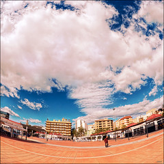 (1688) El Grau de Castell (Fisheye world) (QuimG) Tags: paisajes geotagged golden landscapes cel fisheye panasonic gettyimages paisatges pasvalenci specialtouch castelldelaplana quimg elgraudecastelldelaplana quimgranell joaquimgranell mygearandme afcastell obresdart gettyimagesiberiaq2