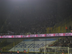 The away end at the Jan Breydel Stadion (fergi19) Tags: club newcastle army europa united brugge toon league