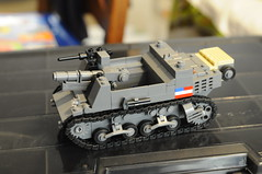 T82 SPG_M5 prototype_ WIP (Florida Shoooter) Tags: usa lego stuart ww2 t82spg m5prototype