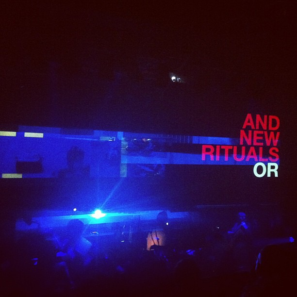 New rituals #supereverything @brightdome - VERY special night