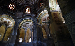 View Up to Gallery, San Vitale, Ravenna