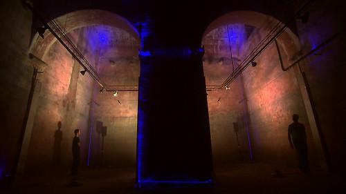 Blaus lasershow