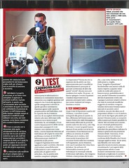 "Italian magazine ""Cycling"" special feature on professional cycling team Liquigas Cannondale pre-season tests with COSMED K4b2 (Metabolic News) Tags: test field mobile portable energy heart exercise extreme o2 reserve peak tolerance oxygen human chamber mixing resting gps lactate hr cart carbon pulse stress output functional mets prescription cardiovascular metabolism breathing ventilation intensity rate evaluation co2 ecg cardiac indirect rehabilitation capacity threshold physiology dioxide wasserman telemetry oximeter holter spirometry impairment vo2 vo2max uptake expenditure cardiopulmonary metabolic at cpet anaerobic cosmed calorimetry acsm spiroergometry spo2 ergospirometry hyperinflationinspiratory"