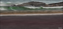 La Magia del Mar / The Magic of the Sea. 54-365. (Sigenza) Tags: sea paisajes naturaleza color colour art beach nature water composition landscapes mar interesting glamour agua nikon arte perspective playa fantasy perspectiva setting creatives olas interesante bruma composicin fantasa encuadre creativas nikond90 desenfoqueselectivo desigenza