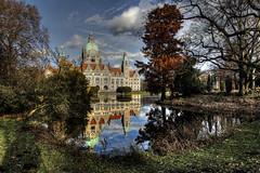 Rathaus Hannover (Michis Bilder) Tags: hannover rathaus hdr