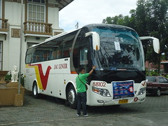 JAC Liner 88102 (encharta) Tags: trip educational laguna liner pila jac yutong 88102 zk6107ha