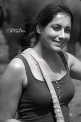 Happiness in eyes (Rohaan Ali Photographics) Tags: woman beautiful smile nice with ali srilanka photographics pinnawala rohaan