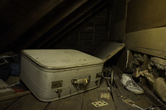 Grandma's Forgets (Rich Johnson flickr) Tags: junk spooky attic suitcase tgam:photodesk=detail2013