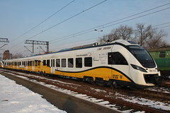 KD 31WE-002 , Legnica train station 18.03.2013 (szogun000) Tags: railroad station electric set train canon tren poland polska rail railway commuter emu passenger trem treno kd ezt impuls pkp pocig  legnica newag lowersilesia dolnolskie dolnylsk kolejedolnolskie canoneos550d canonefs18135mmf3556is d29137 d29275 d29284 d29289 31we 31we002