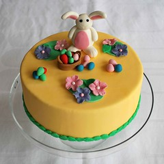 Easter Cake (misscloudberry) Tags: bunny cake easter eggs customized marzipan miss cloudberry misscloudberry