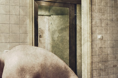 Room 522, Tallink City Hotel, Tallinn (IV) (pni) Tags: mirror room522 bathroom reflection whereiam naked nude human faucet tile back skin body people being person man tallinn estonia eesti hotelhobbies pekkanikrus skrubu pni