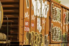 custom boxcar (kudzu 70) Tags: downtownmarietta historic marietta mariettasquare art artistic gwtw history home locomotives shops signs stores streetphotography trains vendors