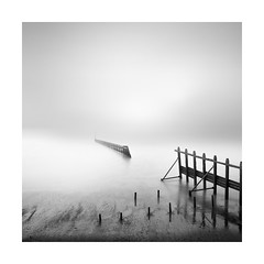 The missing link (Nick green2012) Tags: minimal seascape mist square longexposure broken