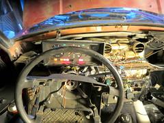 IMG_3874 (rat_fink) Tags: volvo 200 240 242 242dl instrumentcluster instruments vdo dashboard steeringwheel interior
