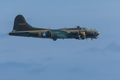 B-17 Flying Fortress Sally B (Phal44) Tags: canon 7d2 7d mk2 200400 200400mm airshow airplane eastbourne airbourne bomber ww2 b17