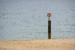 BeachPost (mikeyp2000) Tags: water beach groyne minimal sand sea