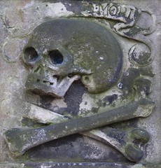 Greyfriars Kirkyard (richardr) Tags: greyfriars kirkyard greyfriarskirkyard churchyard graveyard necropolis scotland scottish edinburgh britain british greatbritain uk unitedkingdom europe european history heritage historic old skull crossbones bones macabre